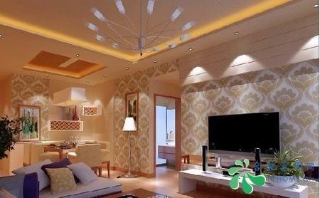 8种客厅电视机背景墙装修效果图