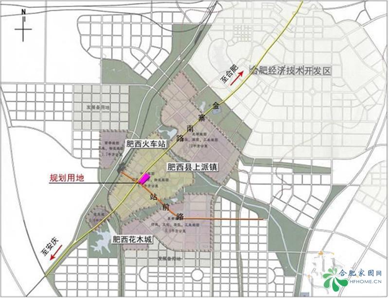 兰陵县西城区规划图