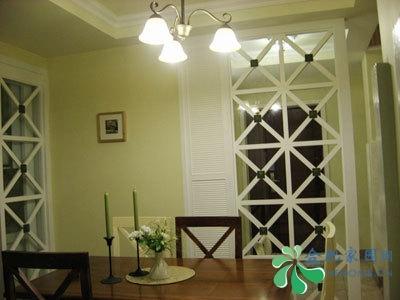 三居室装修设计方案,业主6w清包123平3居,附田园风3房2厅装