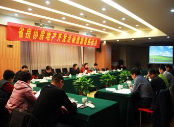 安徽省房协召开开发活动组新春座谈会