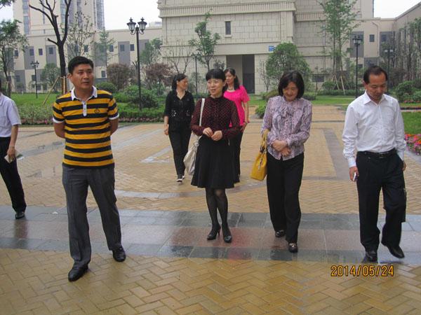 政文外滩公司董事长一行赴蚌埠置信物业公司学习交流